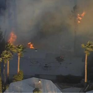 San Bernardino Brush Fire Burns Homes