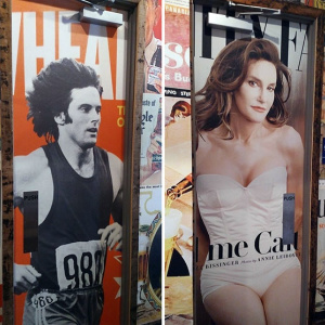 Bar Uses Pictures Of Pre- And Post-Transition Caitlyn Jenner For Their Bathroom Doors