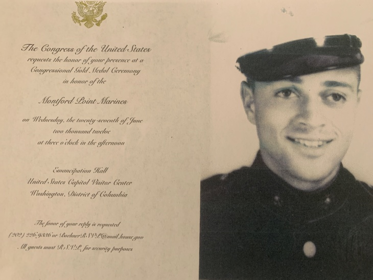 Inglewood CA says goodbye to one of the first black Marines