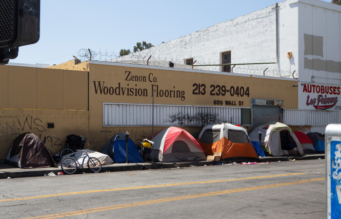 LA Wants To Quickly House 15,000 Homeless People. How?