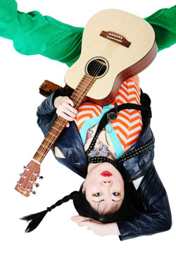 Margaret Cho and Her Guitar