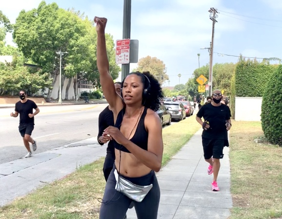 As The Weeks Go By, An Effort To Keep Black Lives Matter Protests Alive