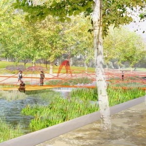 Magic Johnson Park In South LA Is Getting $70M In Upgrades -- Including A 'Wetland Experience'
