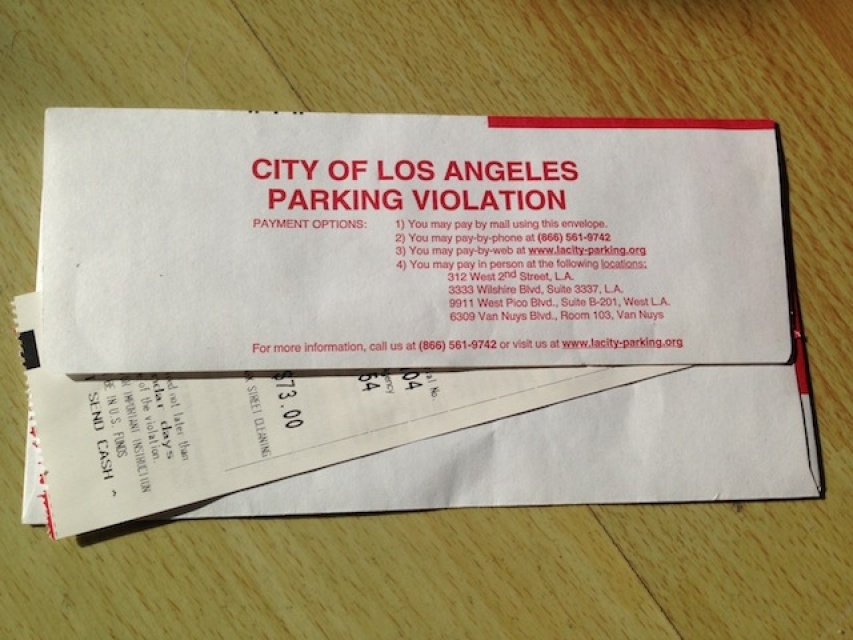 City Of Los Angeles Parking Violation >> Mayor Garcetti On Bogus Parking Tickets It S Wrong And