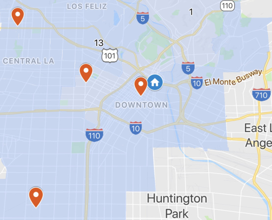 This Map Tracks Where Emergency Homeless Shelters Have Been Proposed, Approved And Opened In LA
