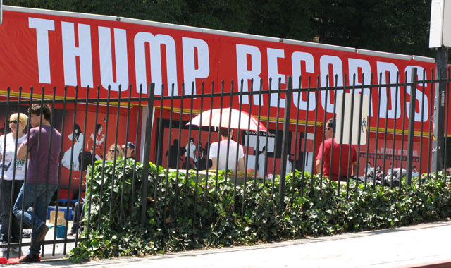 Icky Thump Records at Sunset Blvd formerly the Tower on Sunset