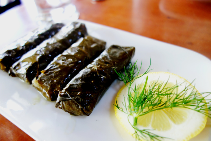The Complicated Comfort Of Syrian Grape Leaves Laist