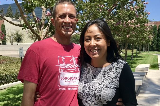 This OC Couple Is Clawing Their Way Out Of Homelessness, And Texting Us Along The Way