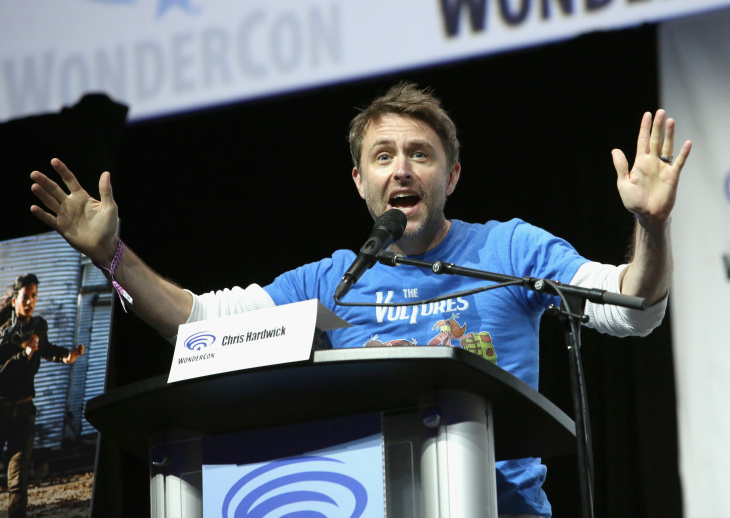 Chris Hardwick at WonderCon