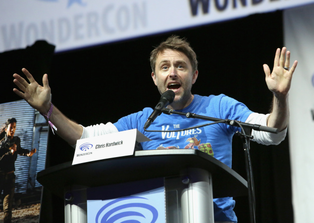 Chris Hardwick Welcomed Back To AMC Following Sexual Assault Allegations