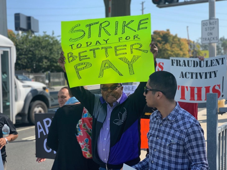 LA's Uber and Lyft Drivers Are Striking For Livable Wages: LAist
