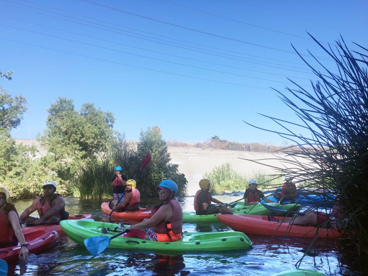 Paddling From Atwater Village to Silver Lake, Or How To Kayak The LA River: LAist