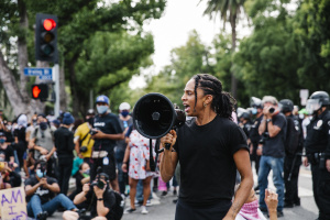 Photo Essay: The Day Black Lives Matter Showed Up At Eric Garcetti's House