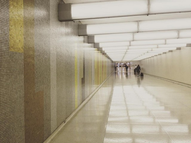 A Brief History Of Lax S Beautiful Mosaic Tiled Hallways