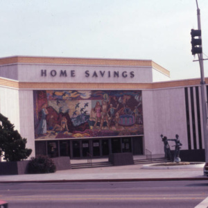 The Iconic Murals Of Millard Sheets Are Disappearing From LA