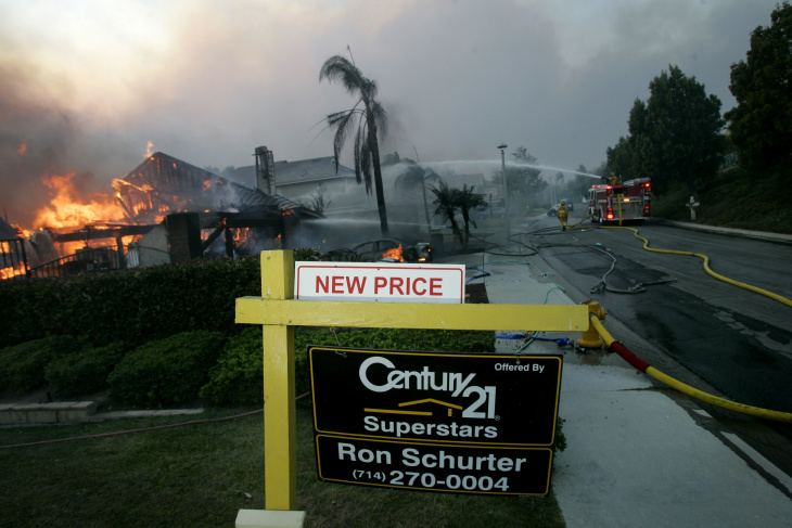 Why Do We Keep Building Houses In Places That Burn Down?: LAist