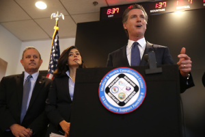 Newsom Bars Large Events To Slow COVID-19 Spread