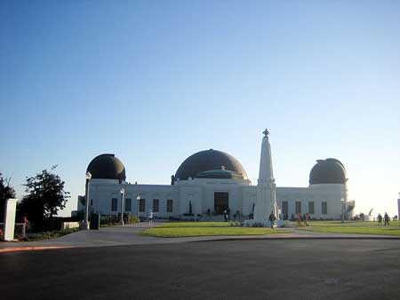 Clear Griffith Observatory