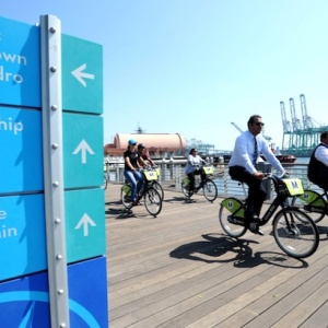 The Port Of L.A. Gets Its Own Metro Bike Share Program