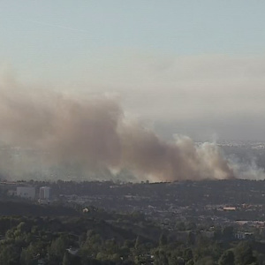 Firefighters Stop Sepulveda Basin Brush Fire At 60 Acres