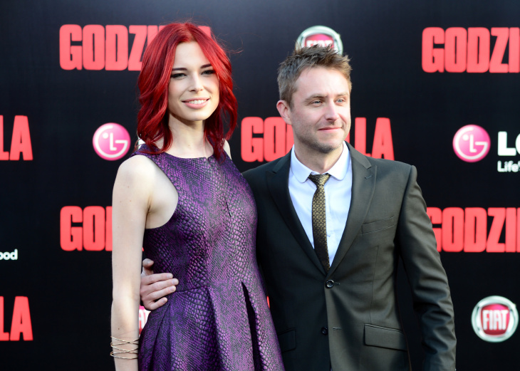 Chris Hardwick with Chloe Dykstra