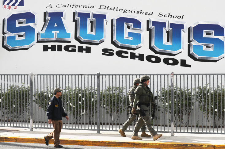 santa clarita high school shooter