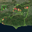 This Map Shows Where Homes Have Been Destroyed And Damaged By The Woolsey And Hill Fires