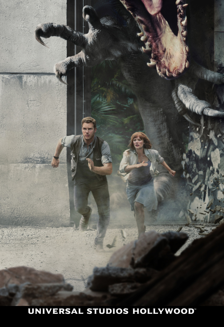 'Jurassic World: The Ride' Is Coming — And It's Bringing The Movie's Stars: LAist