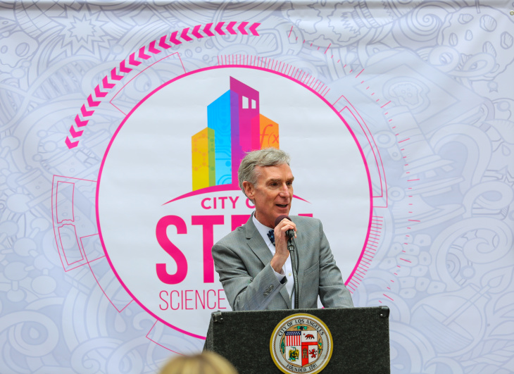 City Of STEM Kicks Off A Month-Long Science Festival With Bill Nye, Marvel, & More : LAist