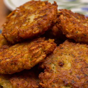 Our Secret To Making The Perfect Latke For Hanukkah Is...