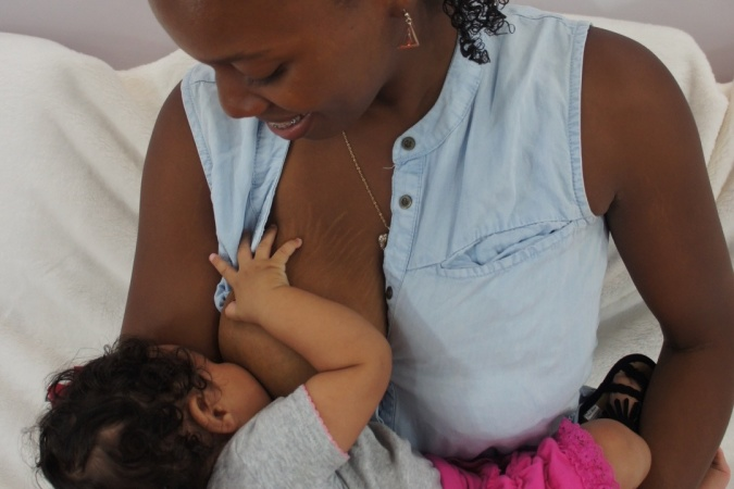 A Message For Black Moms: Keep Calm And Carry On Breastfeeding
