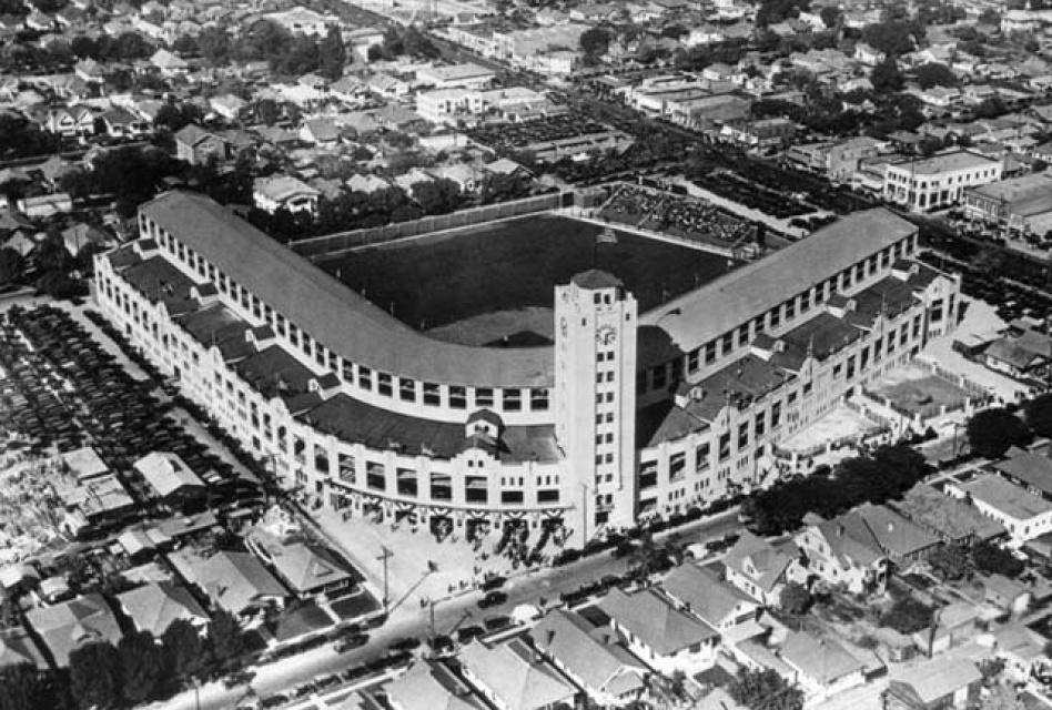 56c9ba0f1c1 LAistory: Baseball's First Wrigley Field Was in LA: LAist