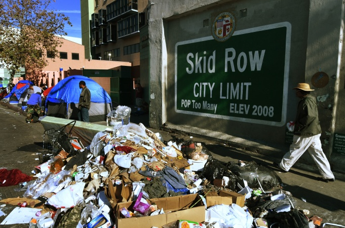 Is The Skid Row Typhus Outbreak A Manufactured Crisis?