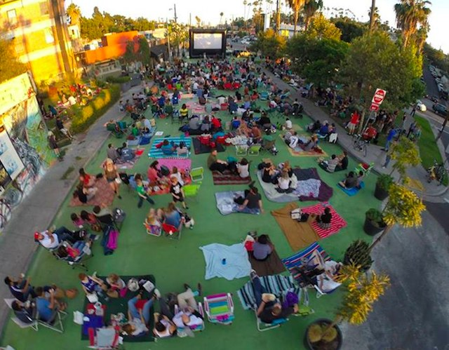 Your Ultimate Guide To Outdoor Movie Screenings In Los Angeles