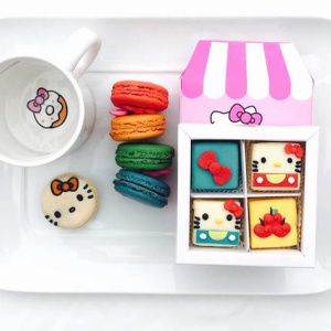 Breaking: There Is A Hello Kitty Cafe Opening In Arcadia Friday