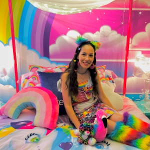 My Stay At The Lisa Frank Flat Was All Rainbows, Unicorns And... Controversy