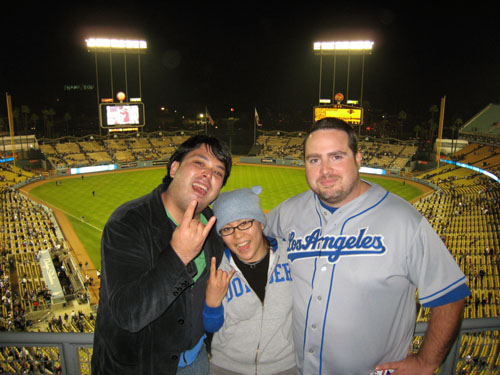Me and My Dodger Bitches