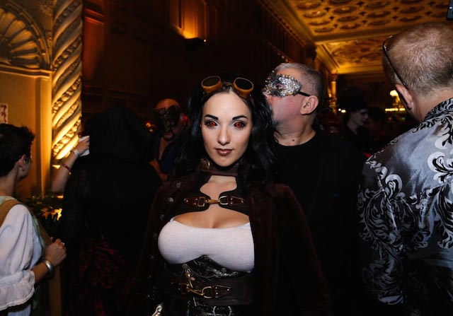 Photos The Wildly Creative Magical Costumes Of This Fantasy Masquerade Ball LAist  sc 1 st  LAist & Photos: The Wildly Creative Magical Costumes Of This Fantasy ...