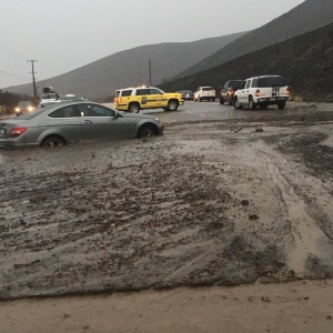 LA Rain: PCH Shut Down, Flash Flood Warning Issued In Woolsey, Hill Fire Burn Zones