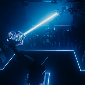 Come Watch Art Robots Shoot Lasers At Each Other In Downtown LA