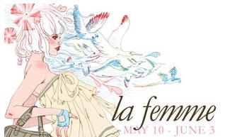 La Femme Exhibit at Nucleus Gallery