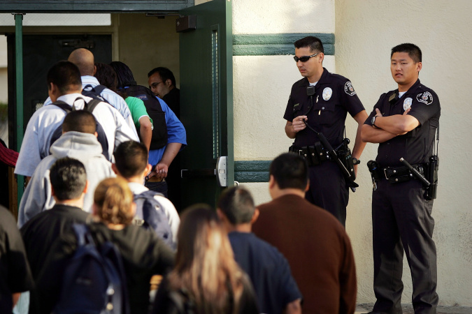 Police At LA Schools Are Arresting And Citing Black Students At A Disproportionate Rate