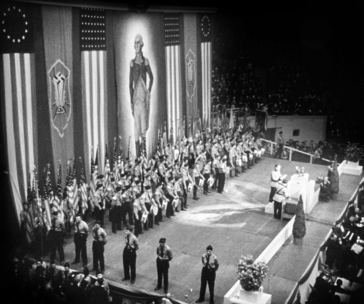 There was a massive nazi rally in nyc in 1939 this oscar - Madison square garden nazi rally ...