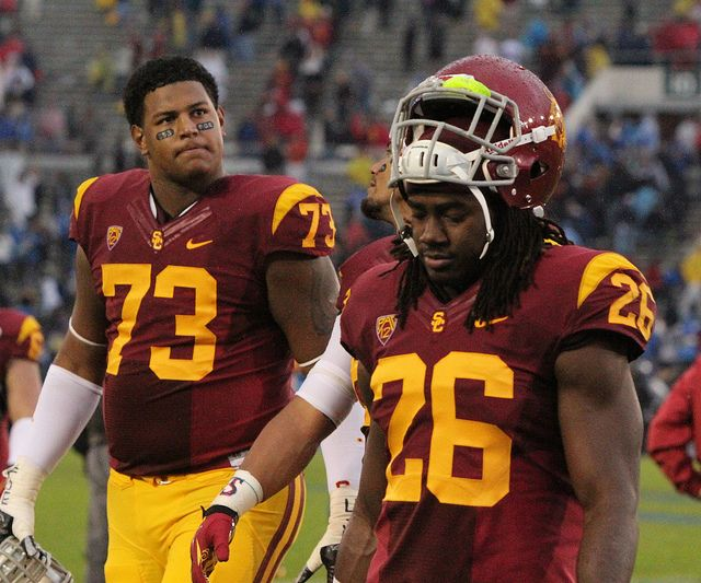 new product 8f5e2 0f964 USC Football Player Josh Shaw Admits He Made Up That Feel ...