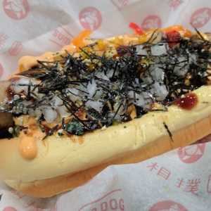 Sumo Dog Brings Japanese Hot Dogs And Soy Milk Soft Serve To Koreatown