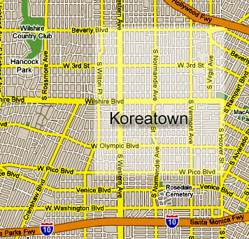 Neighborhood Project: Koreatown: LAist on universal hollywood park map, downtown la metro map, north hollywood map, beverly hills area map, koreatown los angleles map, chicago train map, old hollywood map, la riots map, north coast map, philadelphia neighborhood boundaries map, culver city ca map, dutchess county new york map, glendale galleria map, el dorado county map, koreatown chicago map, wilshire blvd map, northridge ca map, westlake village california map, beverly hills california map, hollywood subway map,