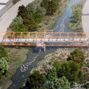 Dear LAist: What's Up With The Pedestrian Bridge Connecting Cypress Park And Frogtown?