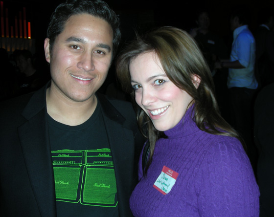 Mike Macadaan and Sloane Berrent