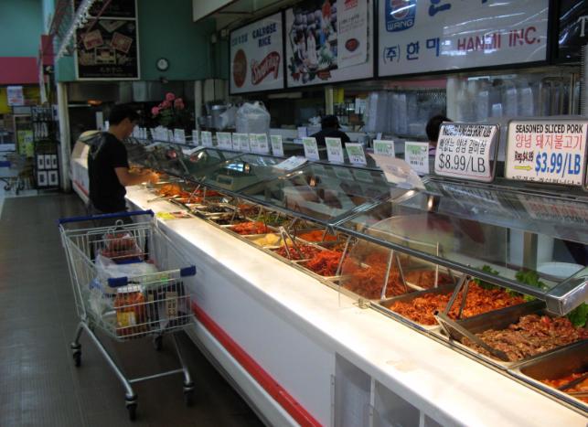 HK deli counter