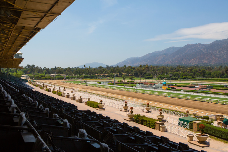 Santa Anita Park Reopens For Training After 21 Horse